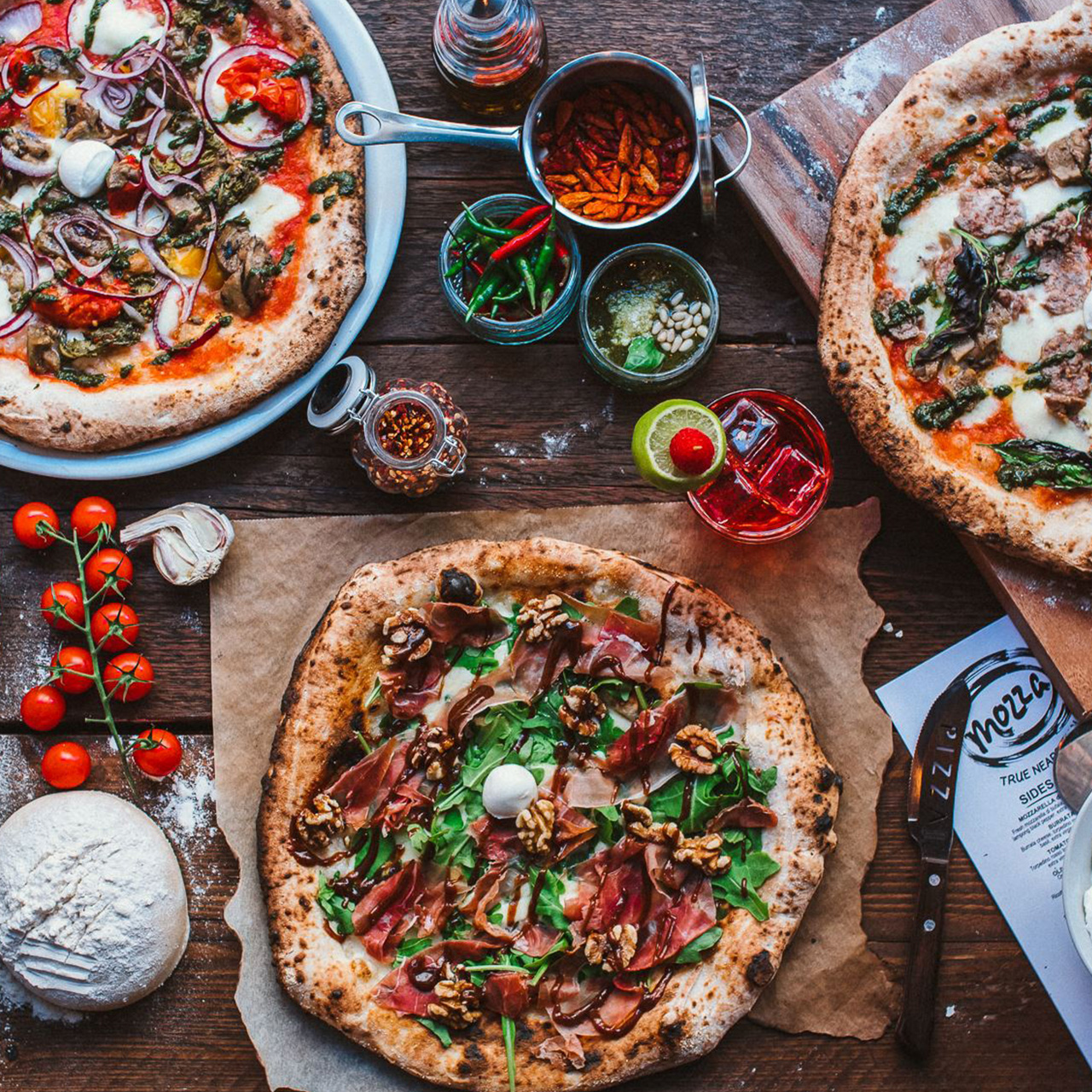 Were Mozzaand Were Mad For Pizza Mozza